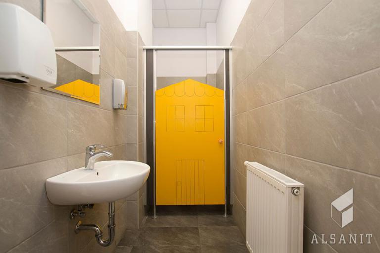 kabiny sanitarne dla przedszkoli