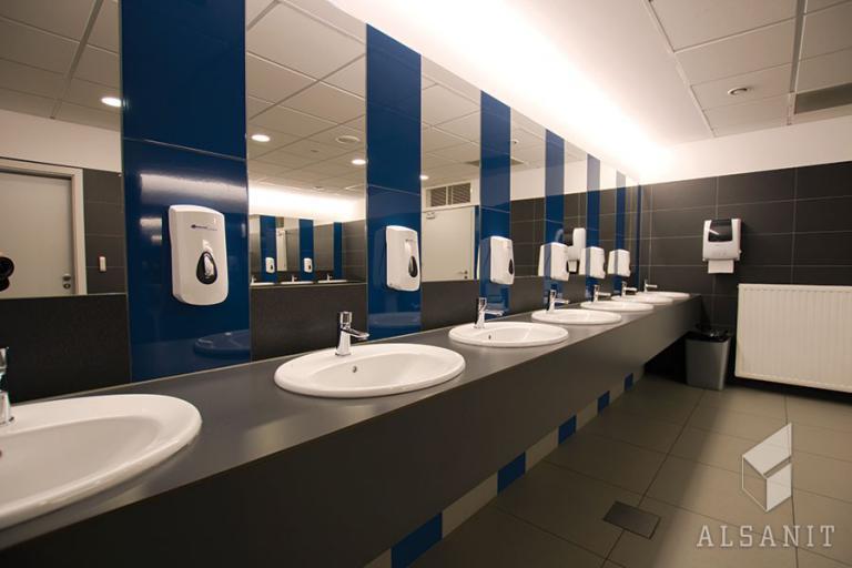 blaty łazienkowe HPL