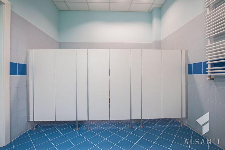kabiny WC kowbojki w przedszkolu